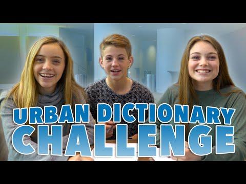 Urban Dictionary Challenge!  (MattyBRaps vs Darby & Chloe)