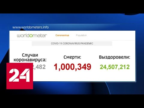 Коронавирус: число жертв в мире перевалило за 1 миллион - Россия 24