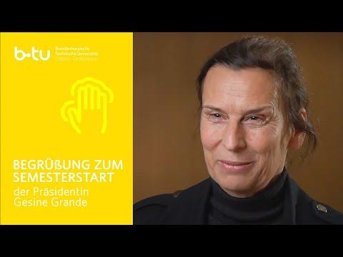 BTU-Präsidentin Gesine Grande