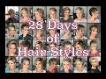 28 Days of Pixie Hair Styles + 2 Salon Visits