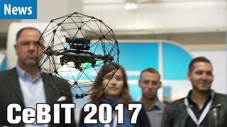 Coole Drohnen auf der CeBIT 2017 | deutsch / german