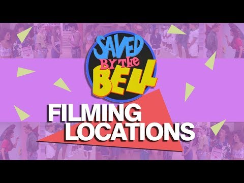 Saved By The Bell Filming Locations season 1 - 4
