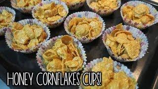 Honey Cornflakes Cups