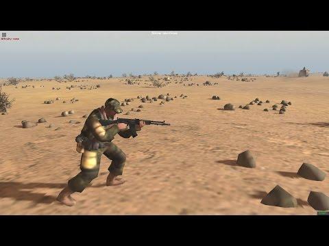 Western Sahara War 1982 (Men of War Red Rising Mod)