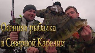Отдых и рыбалка в Северной Карелии Осень 2020 Часть 1 Искали кумжу а нашли окуня Лесная кухня