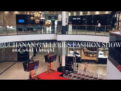 BUCHANAN GALLERIES FASHION SHOW + WHAT I BOUGHT | TENDER LOVING STYLE