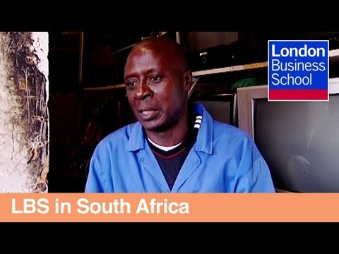 Moses' Story: Working With Micro-entrepreneurs In South Africa | London Business School