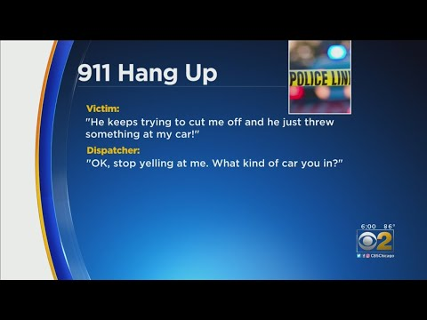 Hilary - 911 operator hangs up on victim