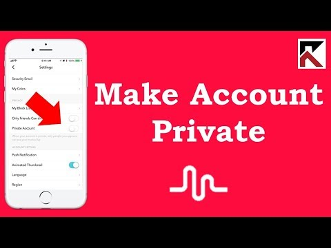 How To Make Your Musical.ly Account Private iPhone