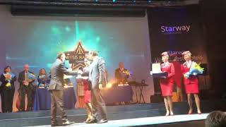 Mitsis Ramira Beach Hotel 1st place | Starway World Best Hotels Awards 2018