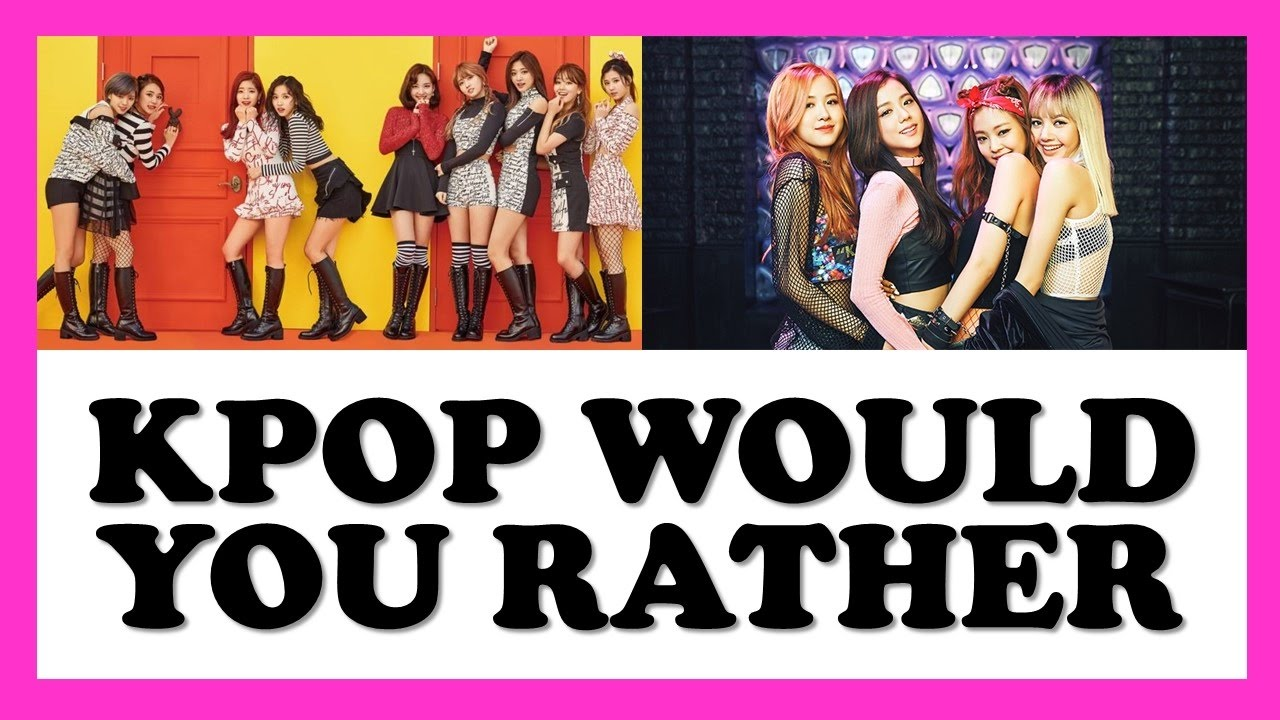kpop would you rather game  1