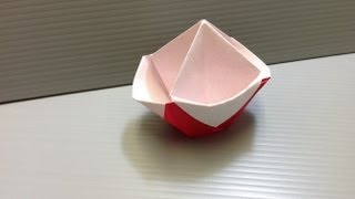 Daily Origami: 162 - Candy Pot