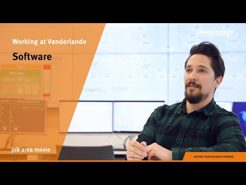 Software | Job area movie | Vanderlande