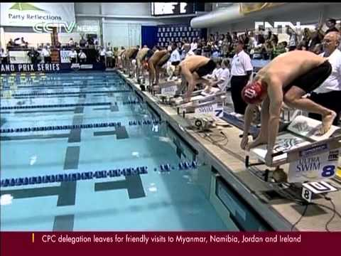 Wu Peng edges Phelps, wins 200m butterfly