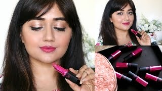 L'Oreal Paris Rouge Magique Lipstick SWATCHES | corallista