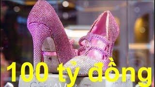 Chiêm ngưỡng đôi giày cao gót giá hơn 100 tỷ đồng mà tất cả cô gái đều mơ ước