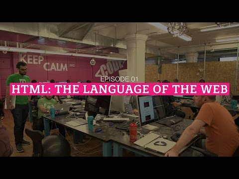 The HTML Show - Episode 1: The Language Of The Web