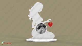 Фоторамка УЗИ «Моя Любовь» / Photo frame