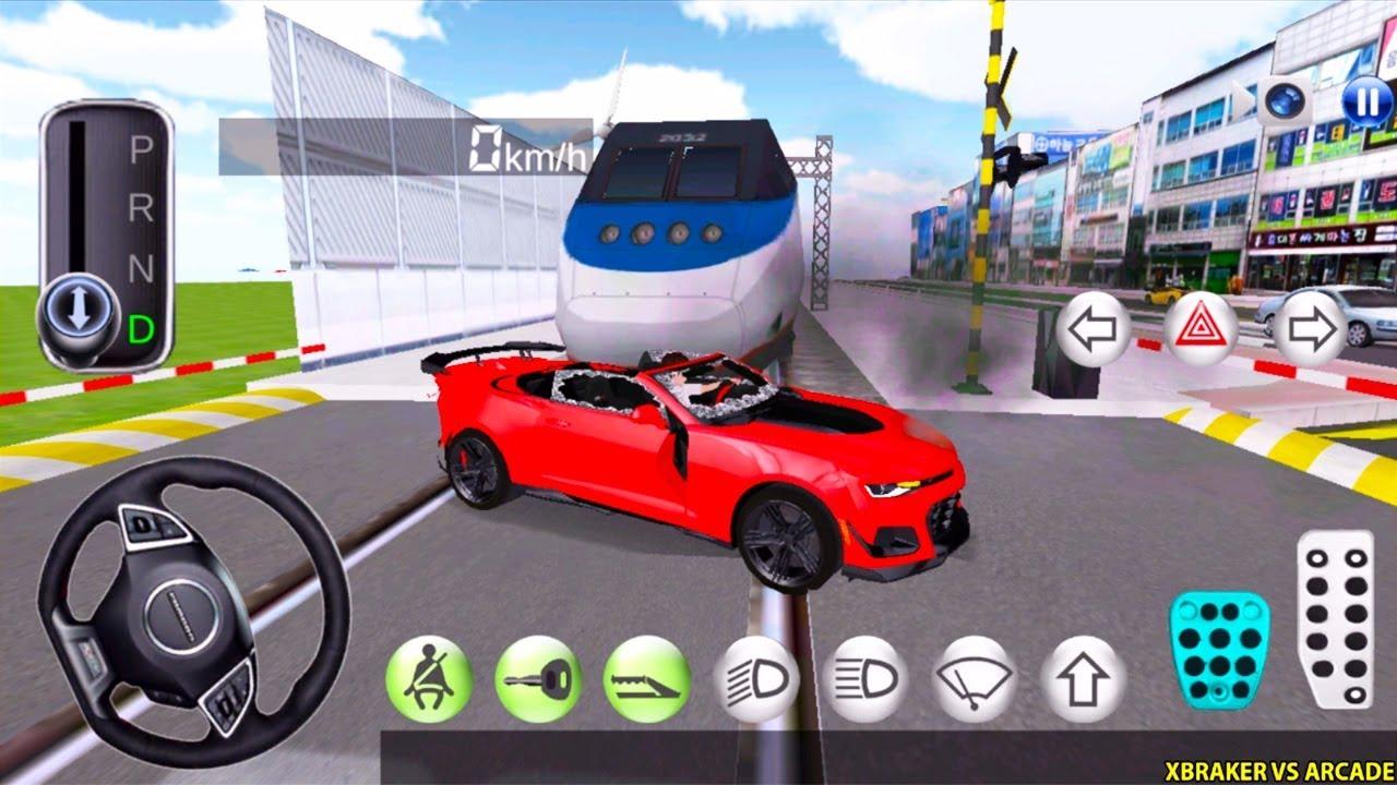 New Update Korean Car Driving Simulator - New Car Unlocked - Driver's License Examination Gamep