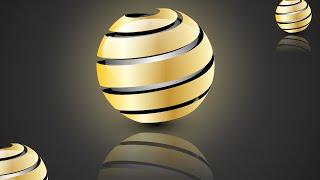 Adobe Illustrator CC TAM 3D logo tasarımı oluşturma eğitimi :