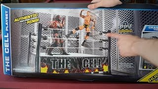 Wwe The Cell Playset Ring Toys R Us Exclusive Unboxing, Construction & Review!!