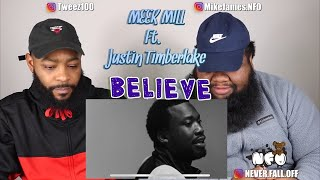 Meek Mill - Believe (feat. Justin Timberlake) [Official Music Video] (Reaction)