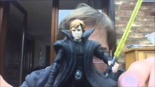 Star Wars Expanded Universe Dark Empire Luke Skywalker figure review