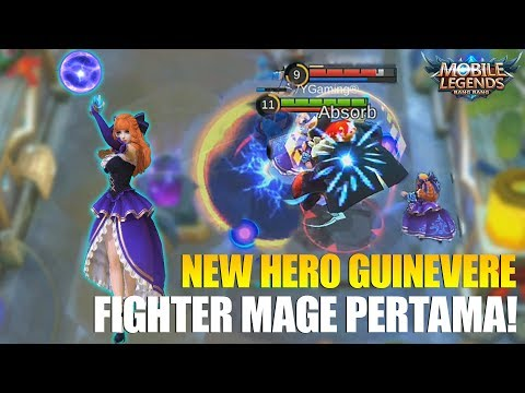 NEW HERO GUINEVERE MS VIOLET - FIGHTER MAGE PERTAMA KALI YANG ADA DI MOBILE LEGENDS