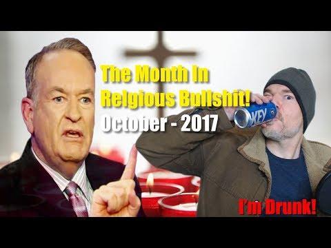 The Month In Religious Bullshit! - October 2017