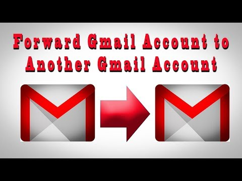 Automatically Forward Gmail Messages To Another Gmail Account