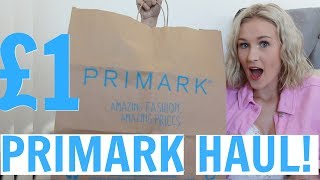 A very GLAM Primark haul! - My first Primark haul