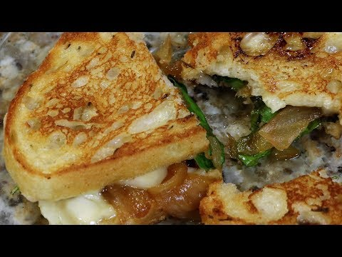 The BEST GRILLED CHEESE EVER   5 GOURMET Grilled Cheese!