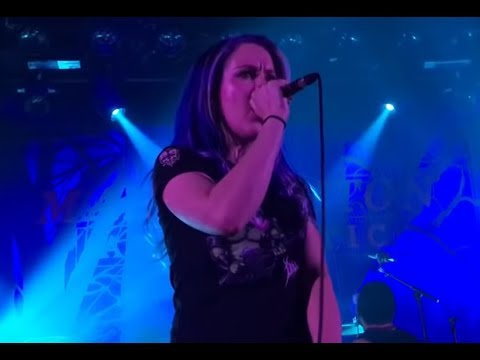 "Arch Enemy's Alissa White-Gluz joined LOG's Mark Morton for ""The Truth is Dead"" live!"