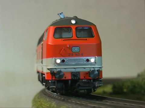 Modellbahn-Neuheiten (12) Trix 22234 BR 218 der DB