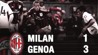 Video Gol Pertandingan Genoa vs AC Milan