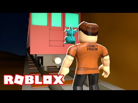 THE GREAT TRAIN ROBBERY IN ROBLOX!!! | Roblox Jailbreak! | MicroGuardian