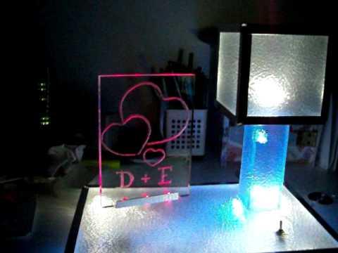 Led plexiglass sign lamp