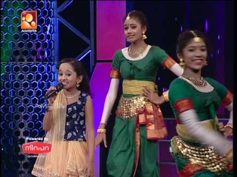 Super Star Junior-5 | Abhirami Singing'Nitham Nitham Nellu Soru...'