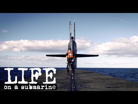 life on a u s navy submarine youtube