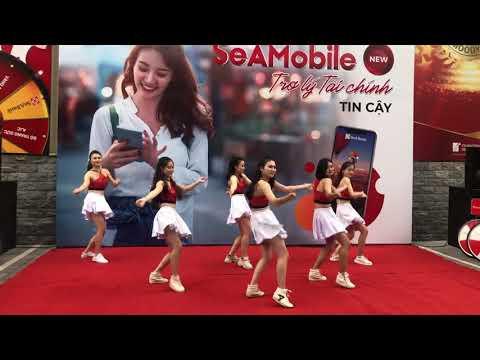 Nhảy cổ động Roadshow ngân hàng Seabank- KimEvents 0967366100