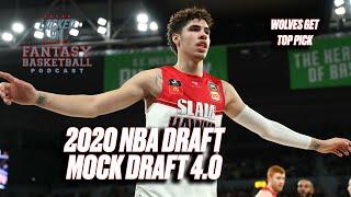 2020 NBA DRAFT MOCK DRAFT   POST LOTTERY   WOLVES TAKE WHO AT NUMBER 1?