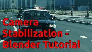 Camera Stabilization - Blender Tutorial