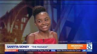 "Saniyya Sidney on New Show ""The Passage"""