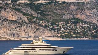The world's BIGGEST superyacht and it belongs to a Russian billionaire who's ploughed his earnings