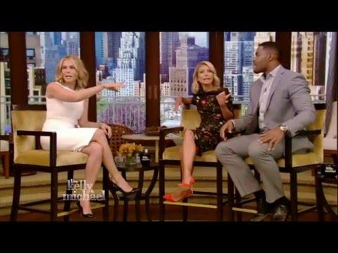 Chelsea Handler Flirts with Michael Strahan