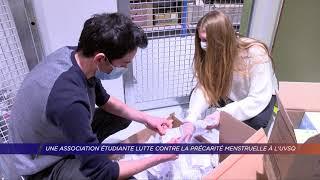Yvelines | Une association étudiante lutte contre la précarité menstruelle à l'UVSQ
