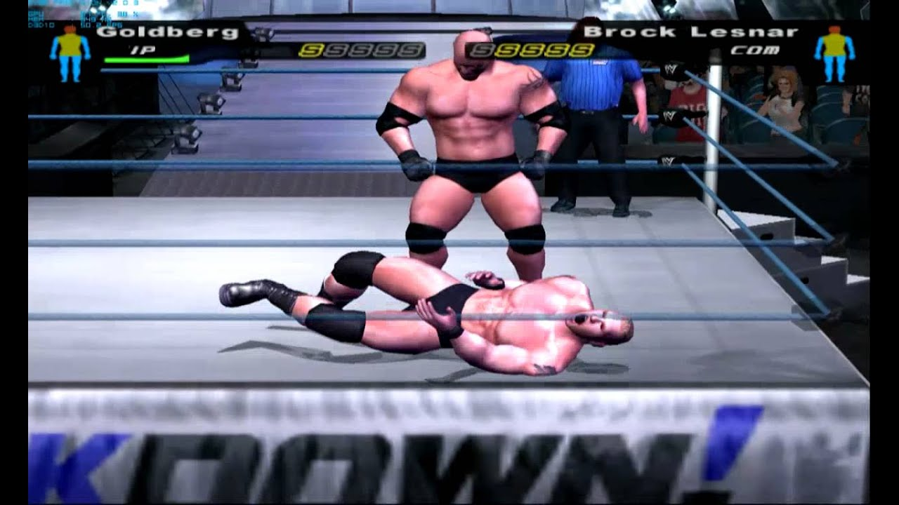 WWE Smackdown Here Comes the Pain gameplay on PC with PCSX2 0 9 9 PS2  emulator HD HQ 720p