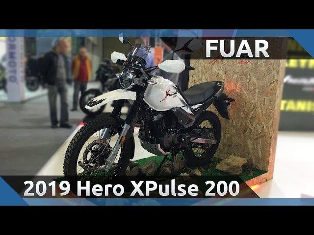 2019 Hero XPulse 200 ve XPulse 200T Ön İnceleme - 2019 Motobike İstanbul Fuarı
