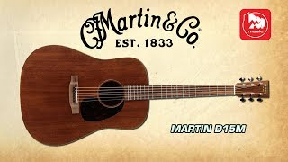 Как звучит MARTIN D15M? Обзор дорогой акустической гитары