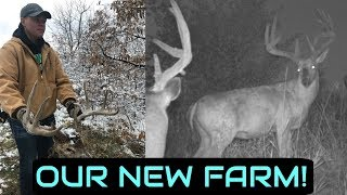 Our New Southern Iowa Property! | Finding a Dead Buck